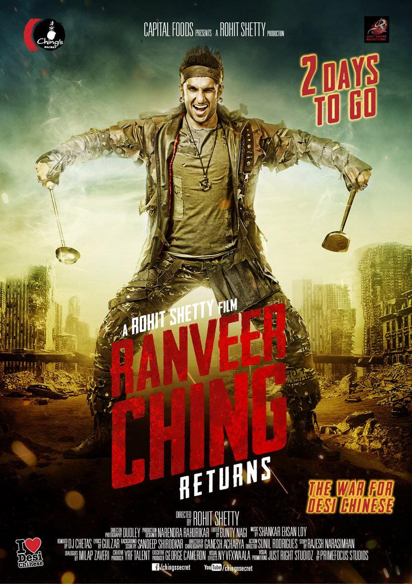 Ranveer Ching Returns Movie First Look Poster  Ranveer Singh