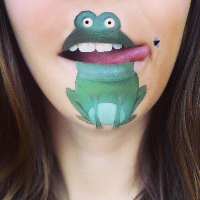 16 fantastic Lip paintings Blow your Mind