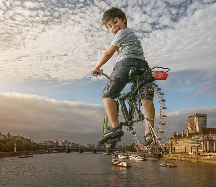 Dad Photoshops His Son Into Epic Scenarios Using His Expert-Manipulation Skills
