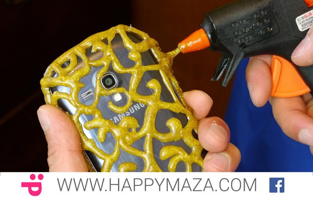 DIY PHONE CASE Life Hacks – Hot Glue Craft