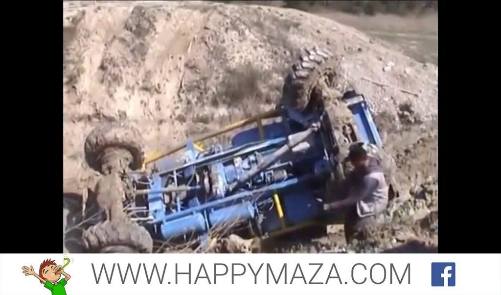 Heavy Equipment funny truck fails