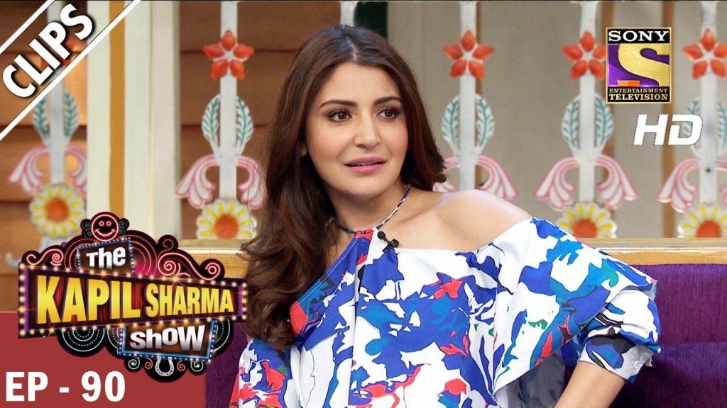 Anushka Sharma's fun time with the audience -The Kapil Sharma Show – 18th Mar 2017