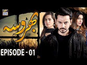 Bharosa Episode – 01 – 20th March 2017 – ARY Digital Drama