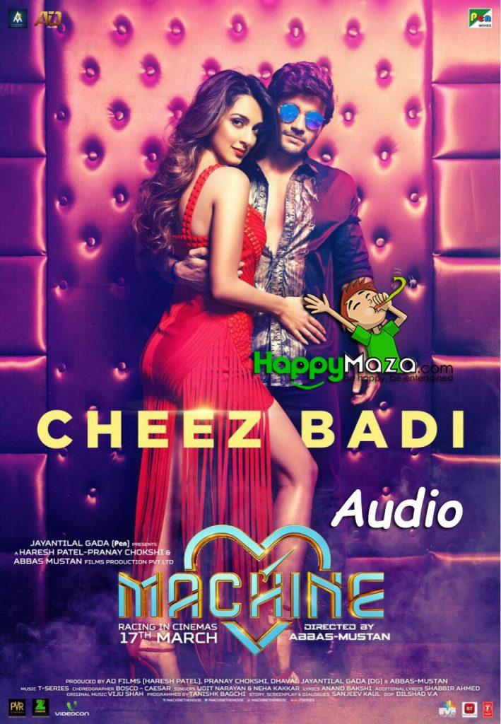 Cheez Badi Lyrics – Udit Narayan & Neha Kakkar – 2017