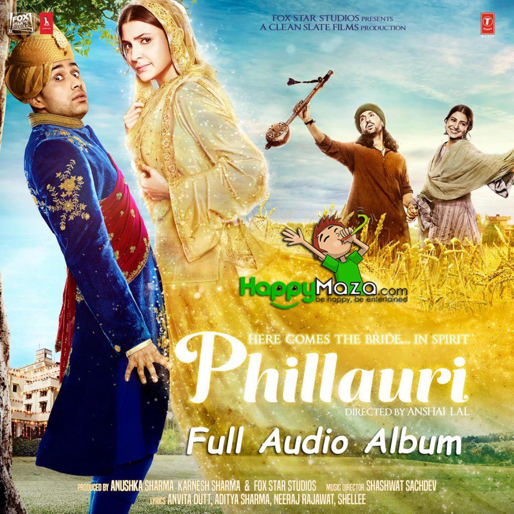 Phillauri Lyrics – Full Songs – 2017
