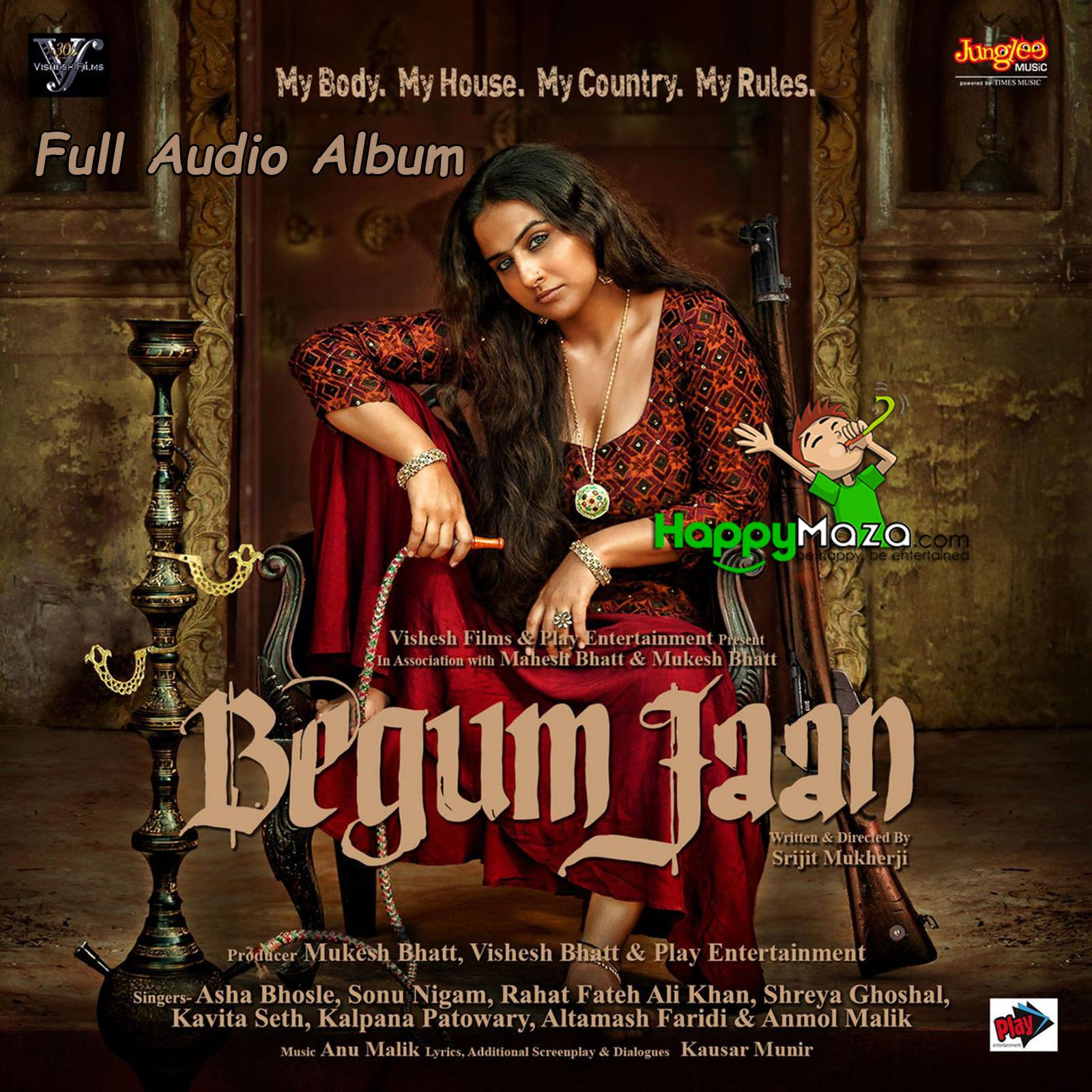 Begum Jaan Lyrics - Full Song - 2017 | HappyMaza | 1600 x 1600 jpeg 488kB