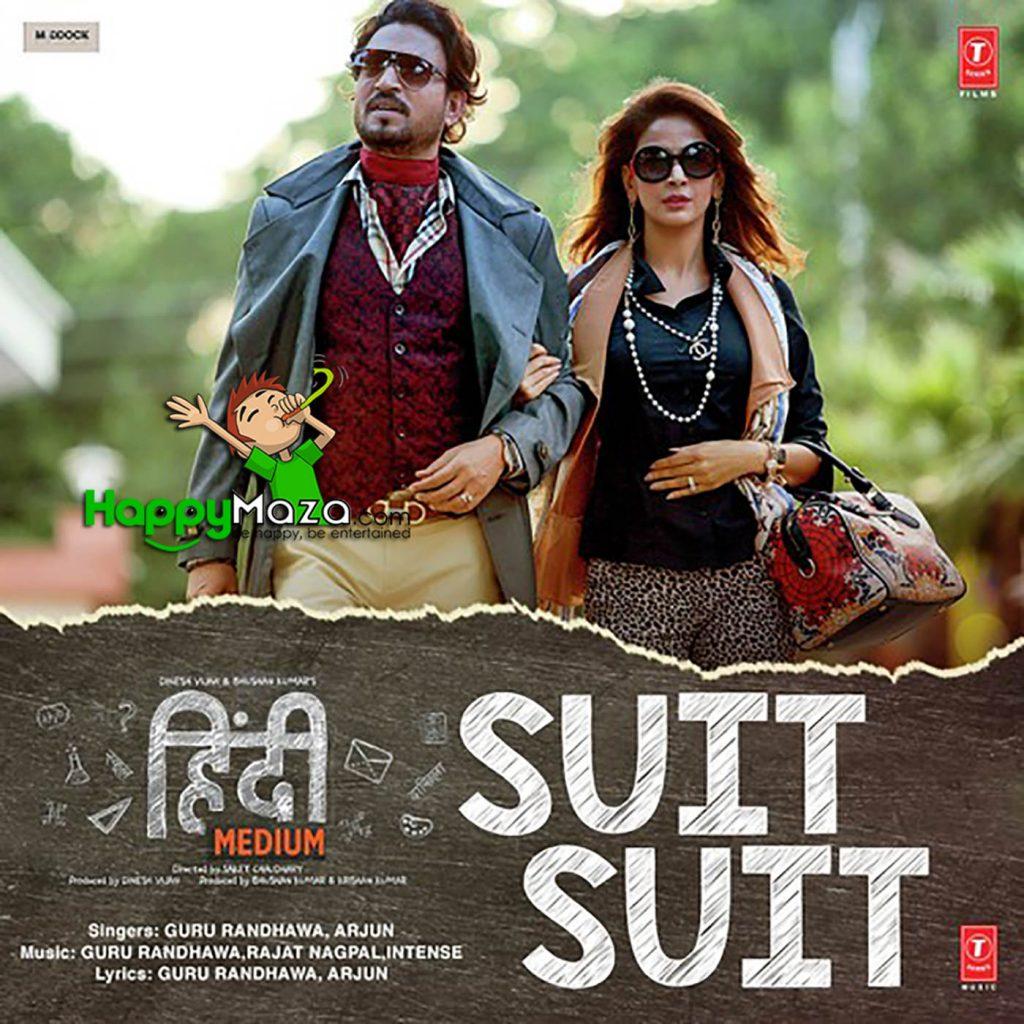 Suit Suit Lyrics – Guru Randhawa & Arjun – 2017