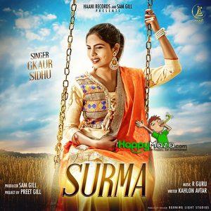 Surma Lyrics – G Kaur Sidhu – 2017