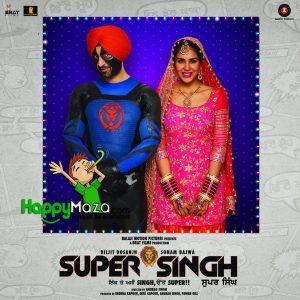 Hawa Vich Lyrics – Super Singh – Diljit Dosanjh & Sunidhi Chauhan – 2017