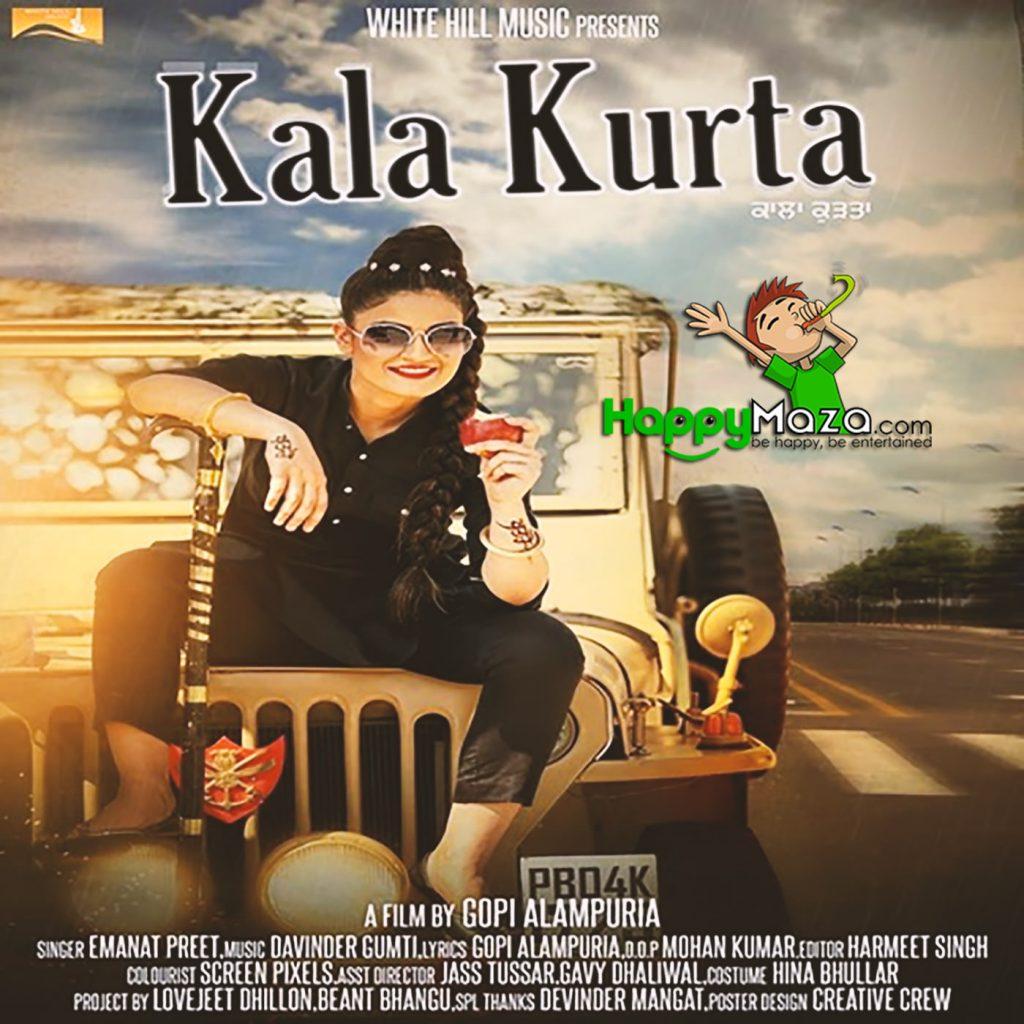 Kala Kurta Lyrics – Emanat Preet – 2017