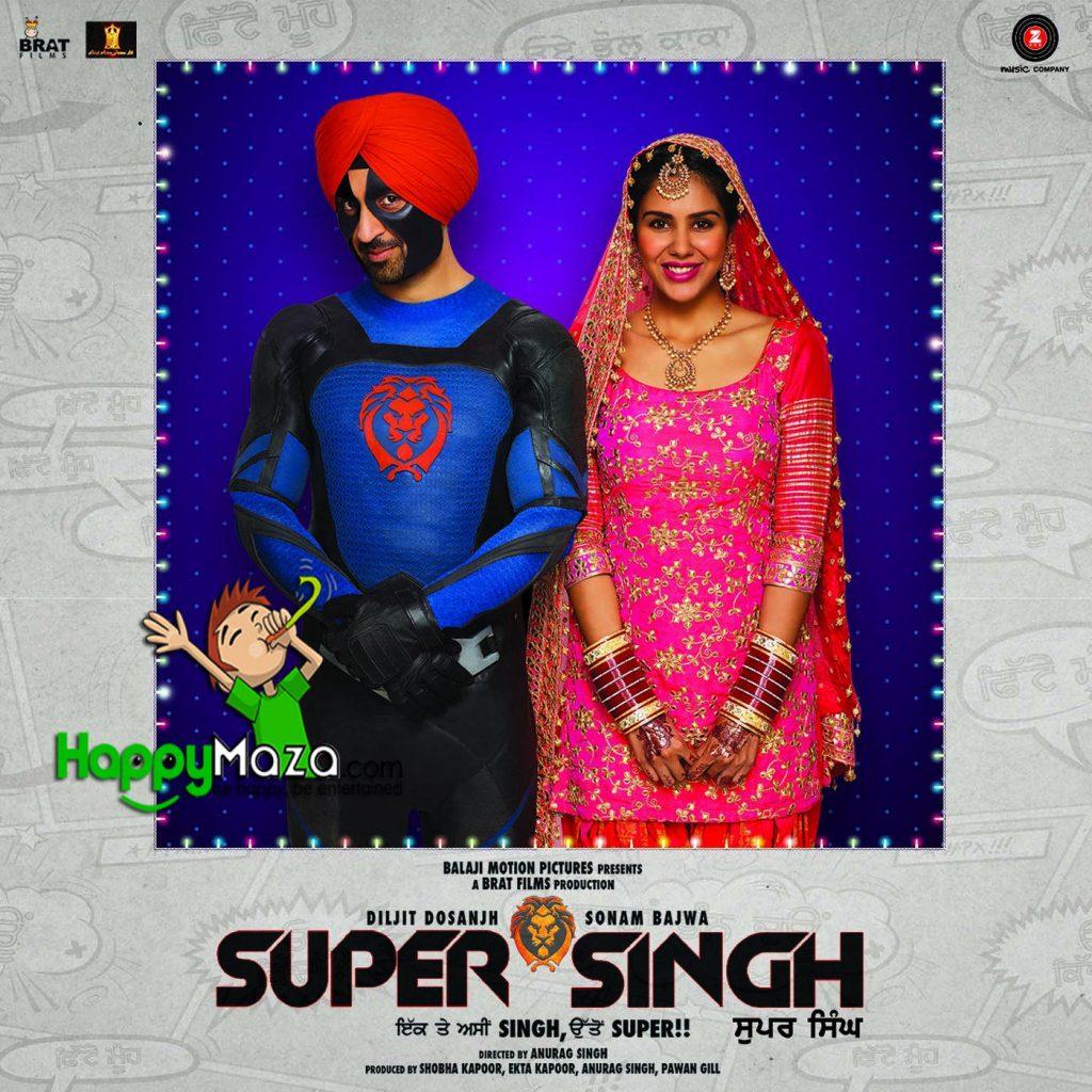 Kalliyan Kulliyan Lyrics – Super Singh – Diljit Dosanjh – 2017
