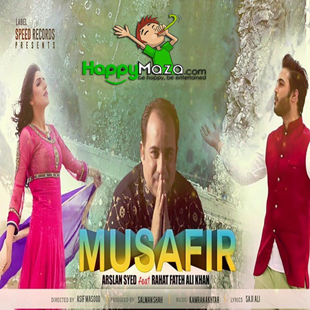 Musafir Lyrics – Arslan Syed,Rahat Fateh Ali Khan – 2017