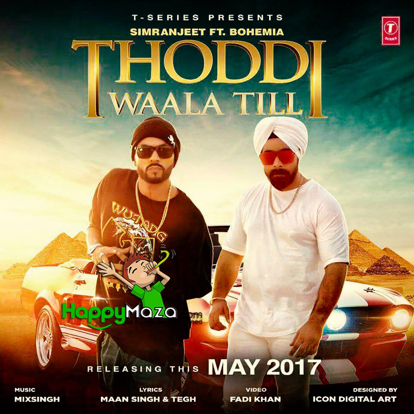 Mehbooba New Audio Song Punjabi: Bohemia , Simranjeet Singh