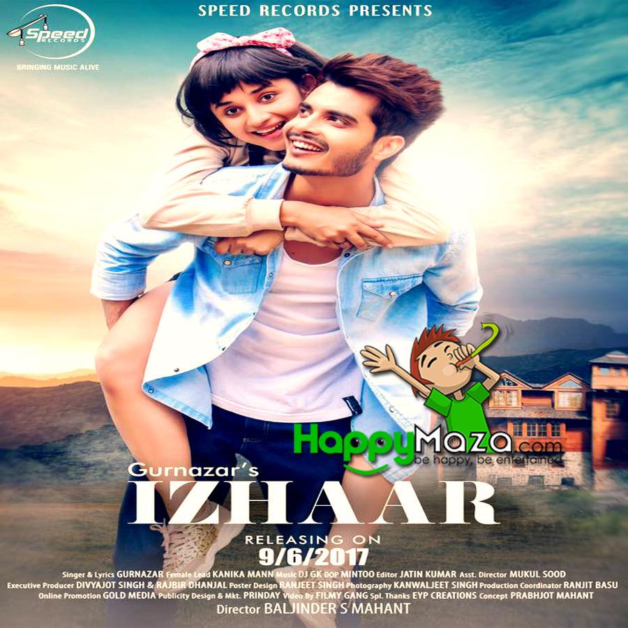 Izhaar Lyrics – Gurnazar – 2017