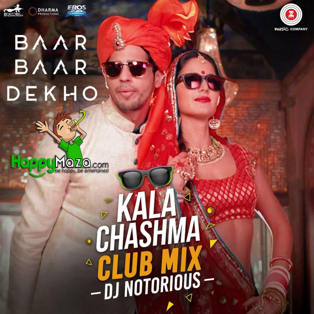 Kala Chashma Club Mix DJ Notorious Lyrics – Amar Arshi, Neha Kakkar, Badshah, Indeep Bakshi – 2017