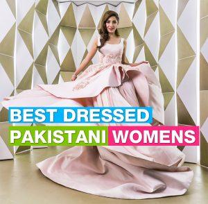 Top Best dressed Female Celebrities in Pakistan 2017