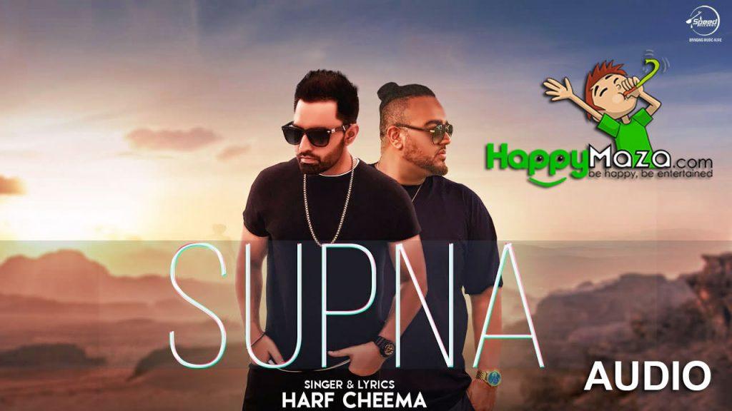 Supne Lyrics – Harf Cheema – 2017