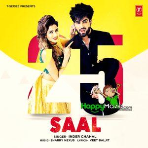 25 Saal Lyrics – Inder Chahal – 2017