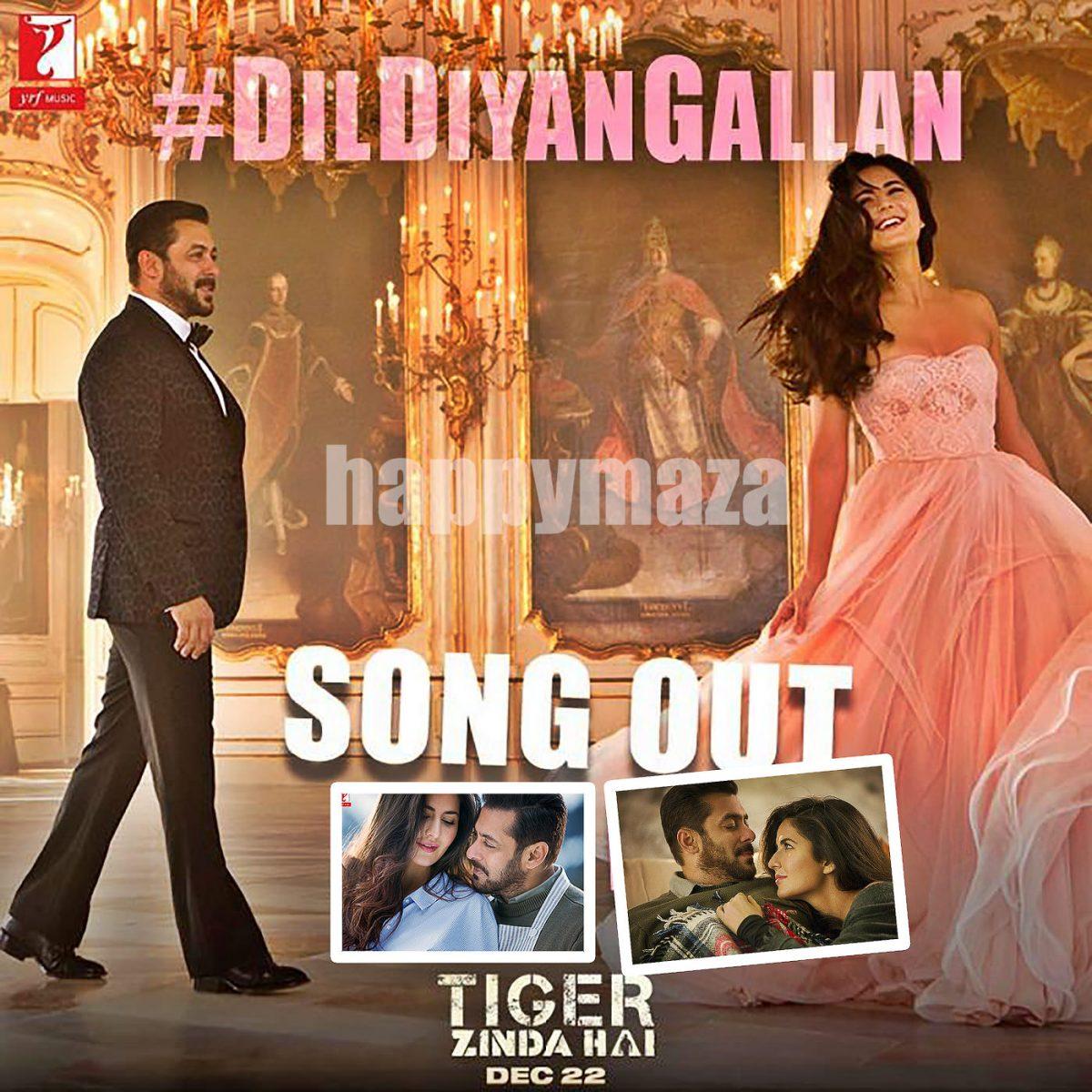 Dil Diyan Gallan Tiger Zinda Hai first look out song on Salman Khan Bigg Boss 11