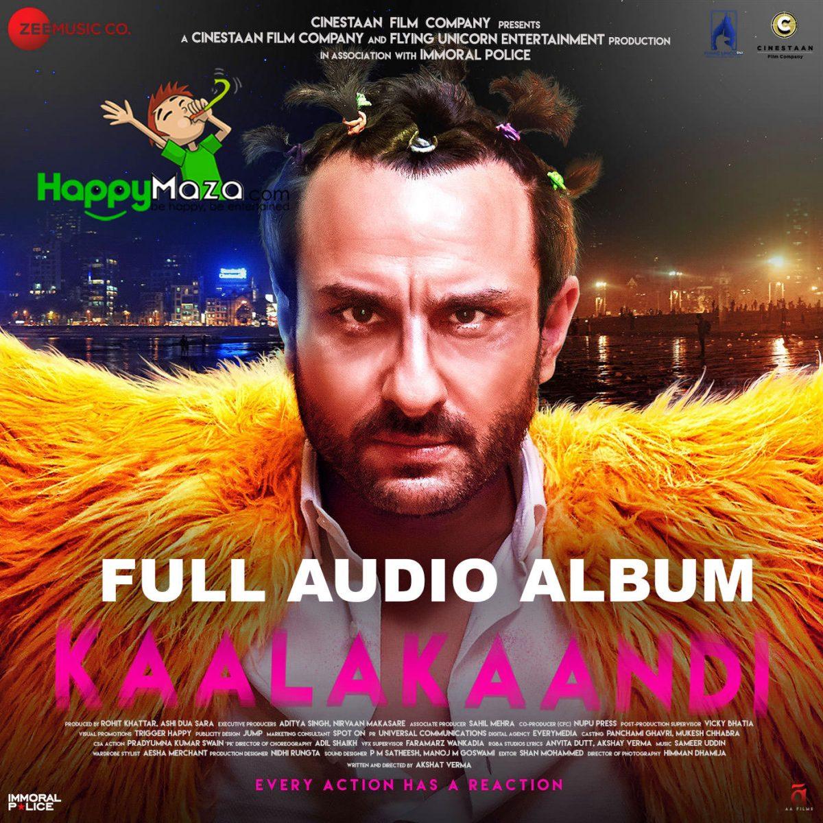 Kaalakaandi Lyrics – Full Song – 2017