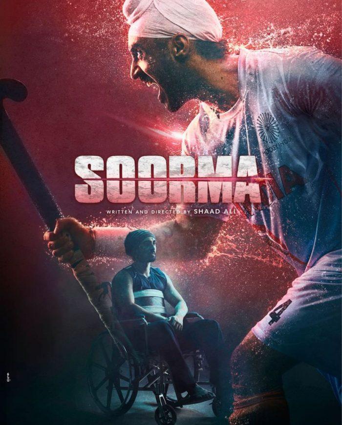 Soorma Movie starrer Diljit Dosanjh Poster