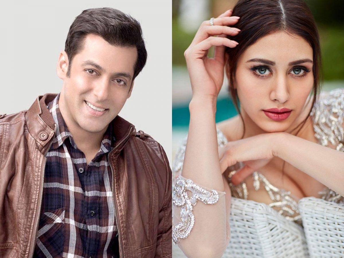 Salman Khan reveals the 'ladki' Warina Hussain for Aayush Sharma's debut Loveratri Movie on Twitter