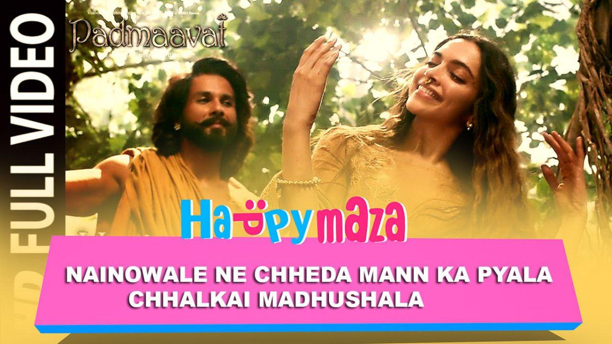 Nainowale Ne – Padmaavat – Deepika Padukone – Shahid Kapoor – Ranveer Singh – HD Video Song – 2018