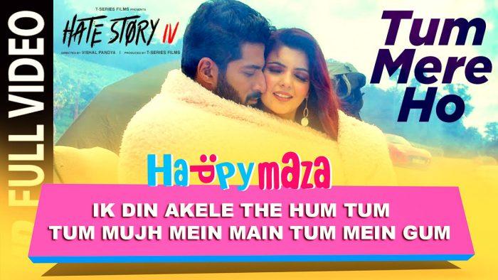 Tum Mere Ho – Hate Story IV – Vivan Bhathena – hana Dhillon – Mithoon Jubin & Manoj M – HD Video Song – 2018