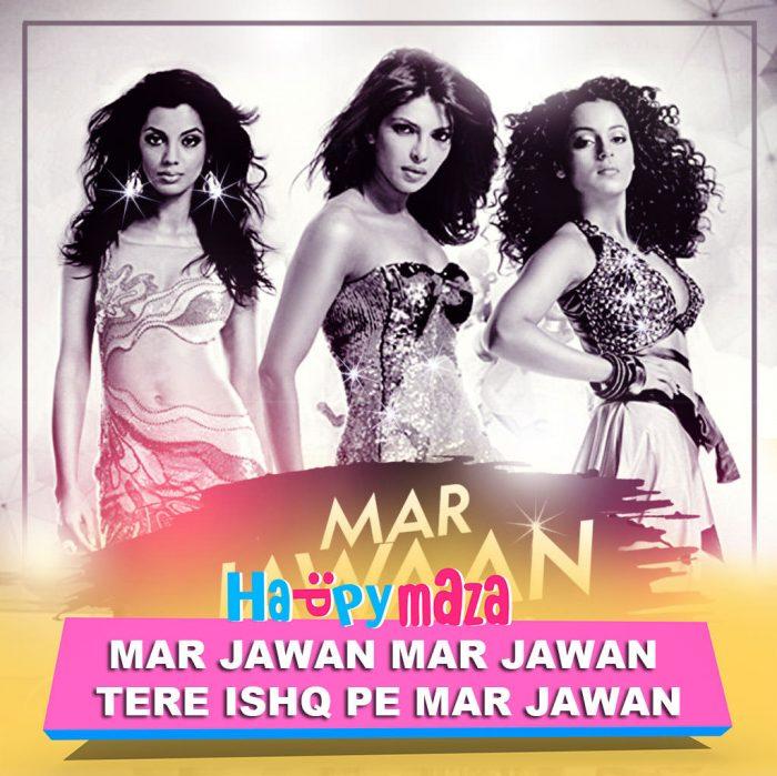 Mar Jawaan Lyrics – Fashion – DJ NYK Feat. Sahil Khan – 2018