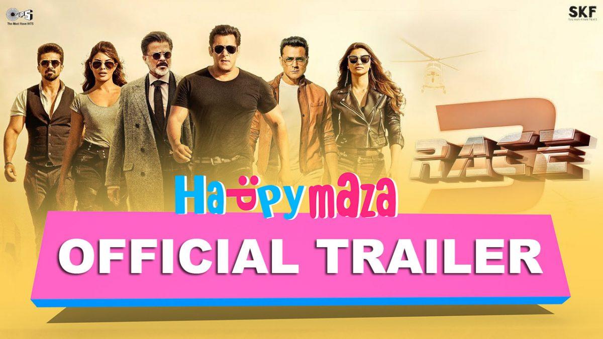 Race 3 – Official Trailer – HD Video – Anil Kapoor, Salman Khan, Jacqueline Fernandez, Bobby Deol – 2018