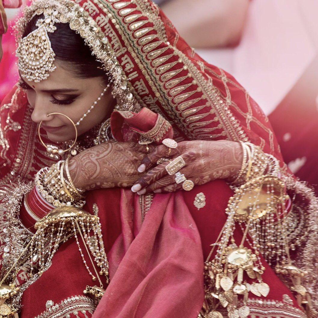 Official photos Ranveer Singh and Deepika Padukone wedding ...
